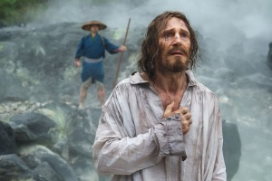 Liam Neeson plays Father Ferreira in the film SILENCE by Paramount Pictures, SharpSword Films, and AI Films
